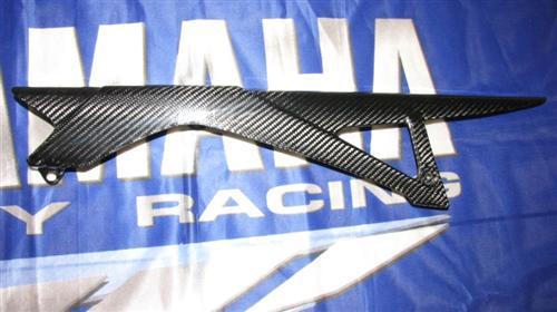 Passend für Yamaha XJ6 2009 09 Carbon Kettenschutz