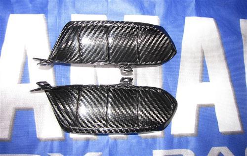 Passend für Yamaha YZF MT07 MT-07 RM04 Carbon Heck Kiemen Seitenteile