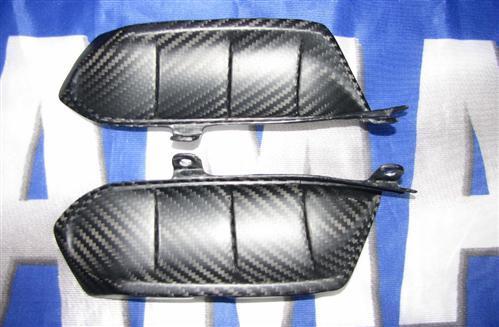 Passend für Yamaha YZF MT07 MT-07 RM04 Carbon Matt Heck Kiemen Seitenteile