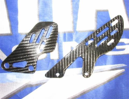 Passend für Yamaha R1 2009 09 RN22 YZF Carbon Fersenschützer Ferenschutz