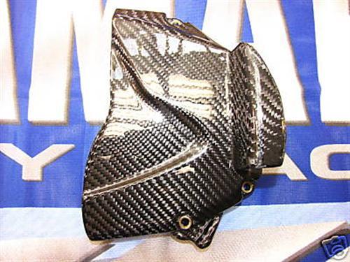 Passend für Yamaha R1 2009 09 RN22 YZF Echt Carbon Ritzel Abdeckung