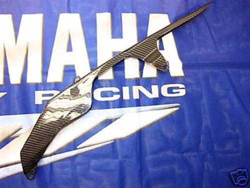 Passend für Yamaha R1 2009 09 RN22 YZF Carbon Kettenschutz Chain
