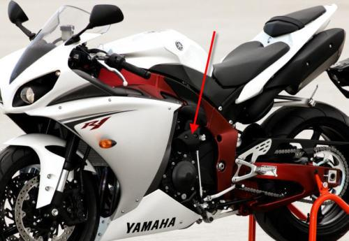 Passend für Yamaha R1 2009 09 RN22 YZF Carbon oberhalb