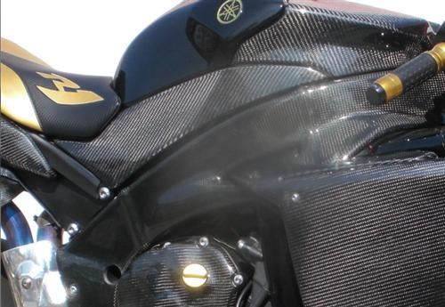 Passend für Yamaha R1 2009 09 RN22 YZF Carbon Tank Verkleidung seit
