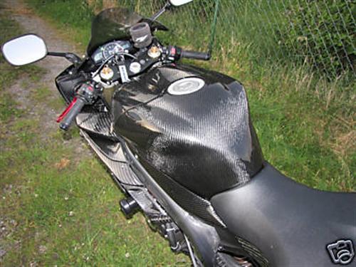 Passend für Yamaha Echt Carbon Tank Verkleidung RN12 2004-2006