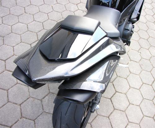 Für Yamaha YZF RN12 R1 04-06  Echt Carbon Hitzeschutz