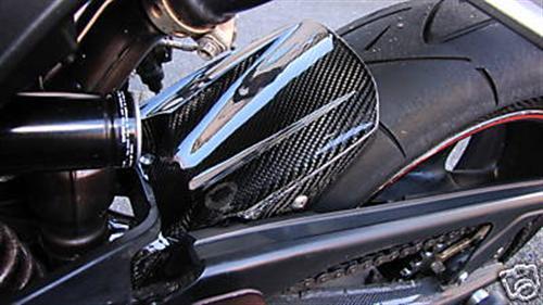 Passend für Yamaha YZF R1 RN12 04-06 Carbon Hinterradabdeckung NEU