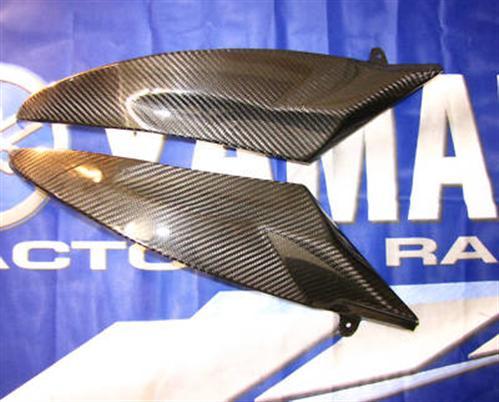 Für Yamaha YZF R6 RJ11 2006-07 Carbon Tank Seitenteile NEU