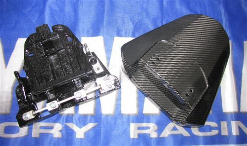 Passend für Yamaha R6 2008 09 RJ15 YZF  Carbon Sozius Abdeckung Heck Version 2