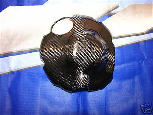 Für Yamaha YZF R6 RJ15 2008-09 Carbon Kupplungsdeckel NEU