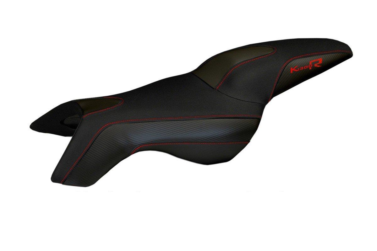 Für BMW K1200R Sport Sitzbank Carbon Sitzbezug Verschiedene Farben