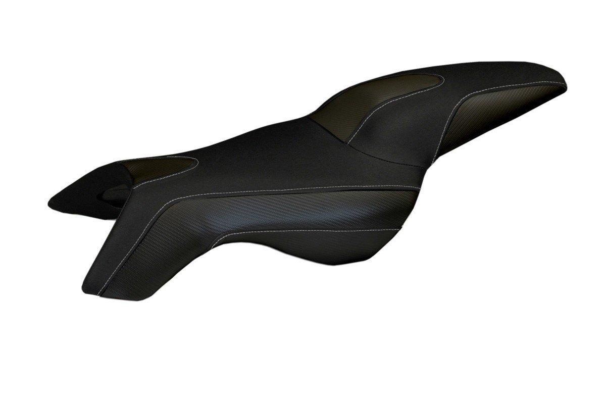 Für BMW K 1300 R Sitzbank Carbon look Sitzbezug Sozius versch. Farben