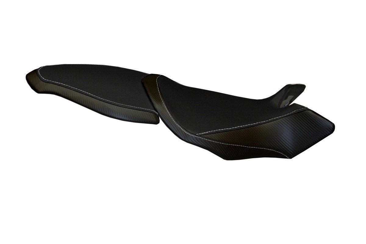 Passend für Passend für MV Agusta Brutale 1090 RR 09-15 Sitzbank Carbon look Sitzbezug Sozius