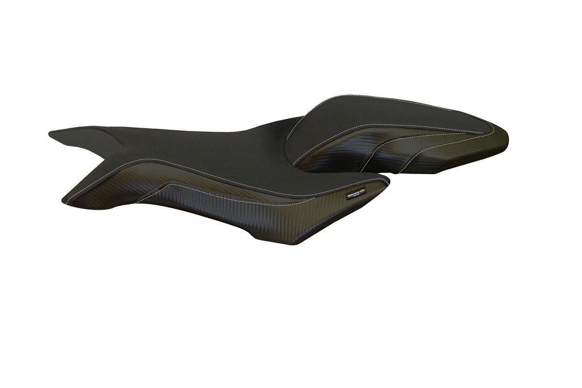 Passend für Passend für MV Agusta Brutale 800/ 800 RR MY 16-17 Sitzbank Carbon look Sitzbezug Sozius
