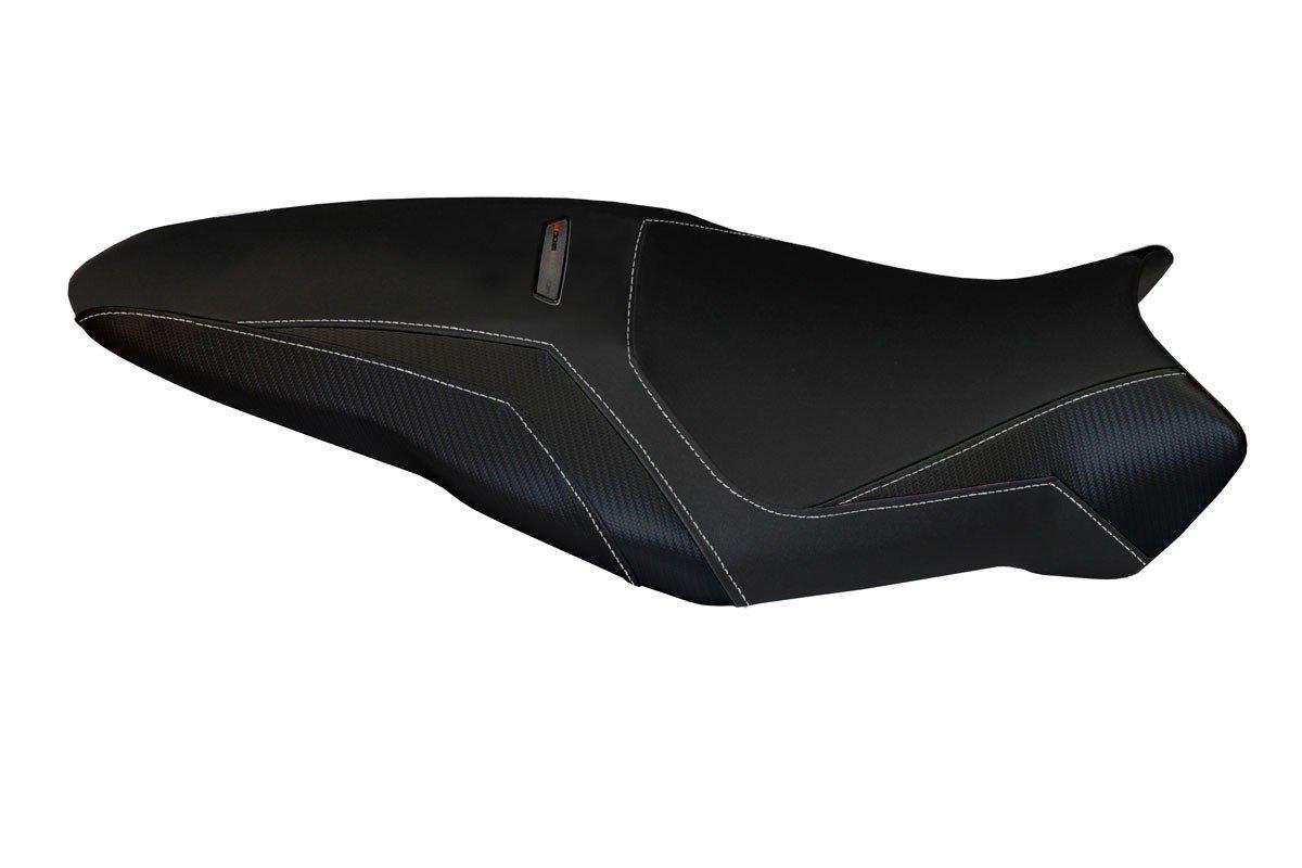 Passend für Ducati Monster 1200 R Sitzbank Carbon look Sitzbezug Sozius