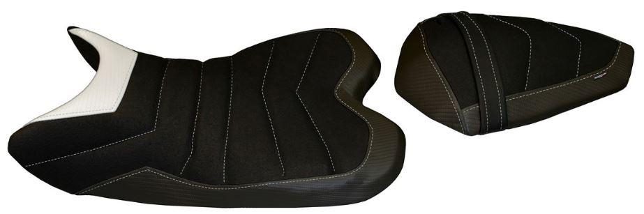 Passend für Yamaha R1 2009-2014 Sitzbank Carbon look Sitzbezug BELFAST 2 ULTRAGRIP