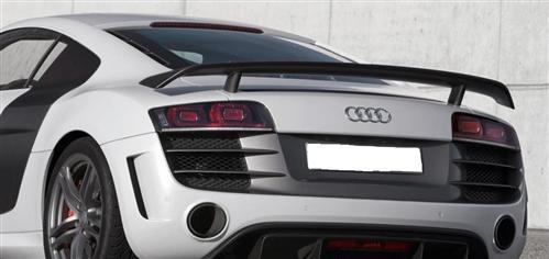 Passend für Audi R8 Echt Carbon Matt Heckspoiler Heck Flügel GT Style Coupe Spyder V10