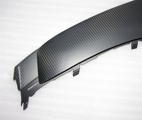 Passend für Audi R8 Echt Carbon Matt Frontspoiler Flügel GT Style Coupe Spyder V10 V8