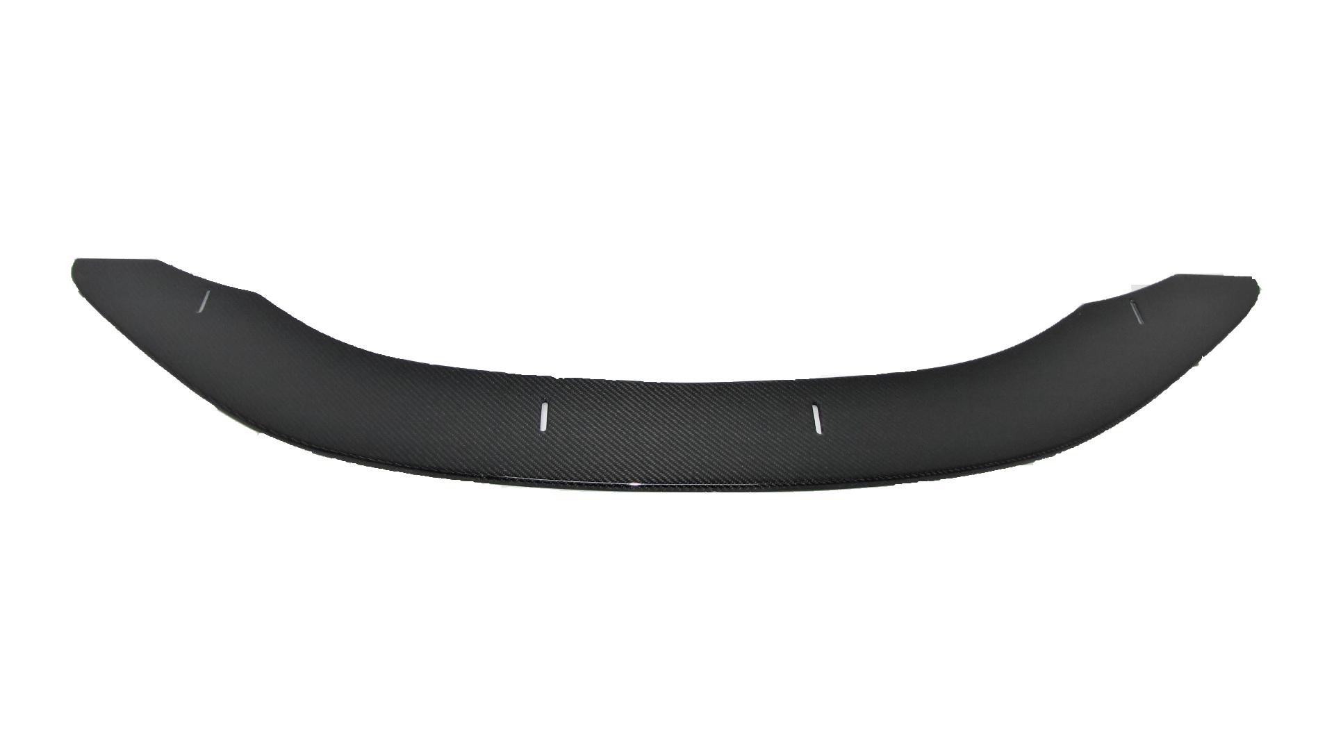 Für BMW M E82 1M ECHT Carbon DTM Style Frontspoiler Lippe