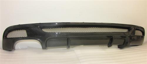 Passend für BMW M E82,E88 ECHT Carbon Heckstossstange Diffusor M-Paket