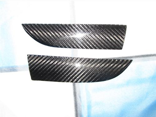 Passend für BMW E92 E93 Echt Carbon Heck Diffusor Blenden ab 2011 LCI