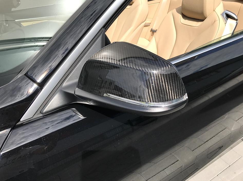 Passend für BMW F33 F20,F21 F30 F31 F34GT 4er F32 F23 E84 Carbon Spiegel