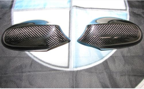 Für BMW E87 E81 E82 (vor Facelift) Echt Carbon Spiegel abdeckungen