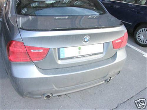 Passend für BMW E90 Echt Carbon Heck Spoiler Heckspoiler 09  NEU