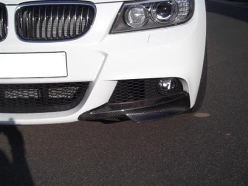 Passend für BMW E90 E91 Carbon Frontschürze Aufsatz für M Paket.Spoiler