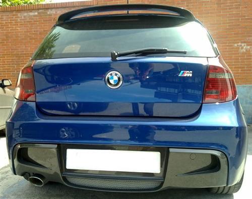 Passend für BMW M E81,E87 ECHT Carbon Heckstoßstange Perf. Heck Diffusor