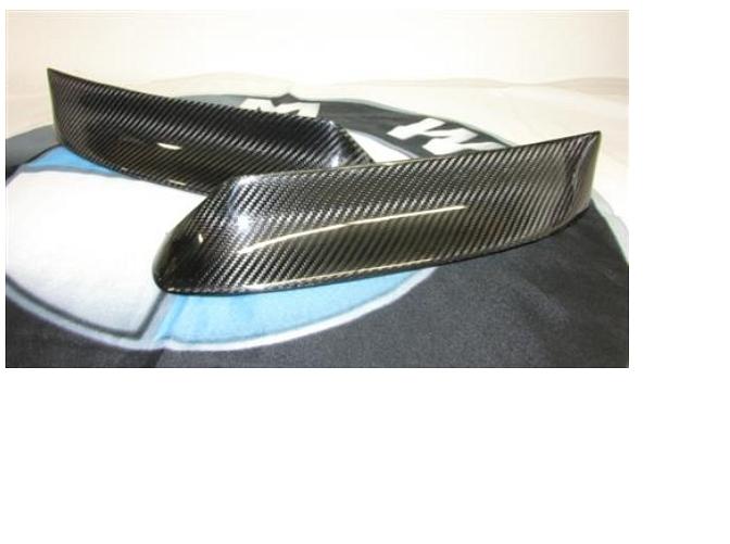 Passend für BMW E46 Carbon Frontschürze Flaps Aufsatz für M3 Spoiler