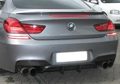 Passend für BMW M 6 F12 F13 M6 F06 ECHT Carbon DTM Style Heckstoßstange