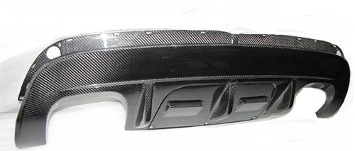 Passend für BMW X6 X6M E71 Diffusor Heck Carbon Anhängerkupplung DTM Sty