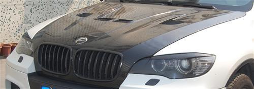 Passend für BMW X6 X6M Carbon Motorhaube  Haube Hood DTM Style E70 E71 E