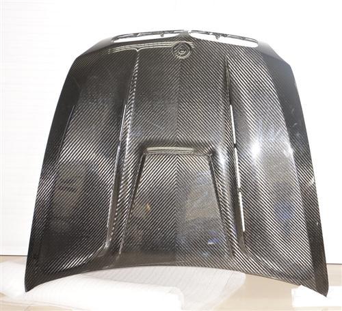 Passend für BMW X6 X6M Carbon Motorhaube  Haube Hood DTM Style V2 E70 E7
