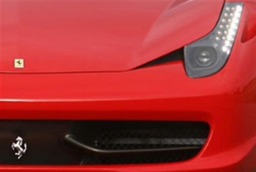 Passend für Ferrari F458 Italia Echt Carbon Flaps Wings Spoiler Flügel Stoßstange