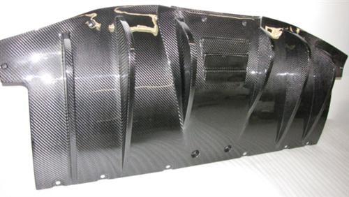 Passend für Ferrari F458 Italia Echt Carbon Heck Diffusor Heckdiffusor