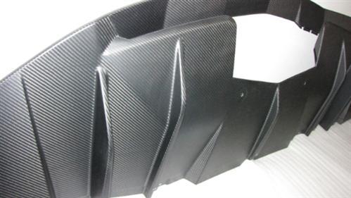 Passend für Lamborghini Aventador Diffusor Echt Carbon Matt LP700-4