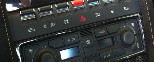 Passend für Lamborghini Gallardo LP500 LP560 mittelconsole Klima Echt Carbon