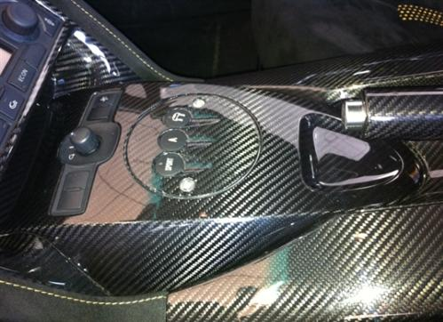 Passend für Lamborghini Gallardo LP500 LP560 mittelconsole E-Gear Echt Carbon