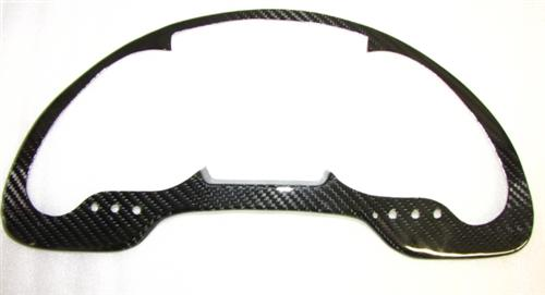 Für Lamborghini Gallardo LP560 Echt Carbon Cockpit Tacho Abdeckung Armatur