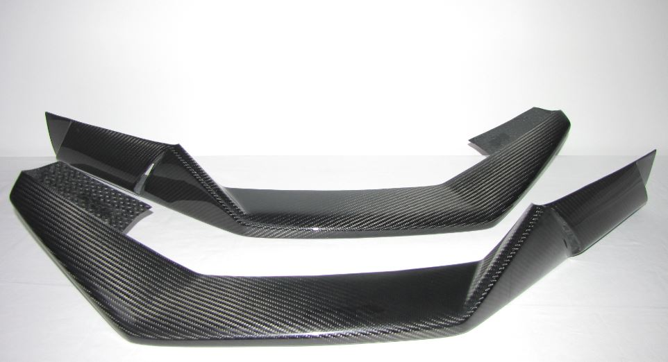Passend für Lamborghini Huracán Huracan LP610-4 Carbon Flaps Front Superleggera Style