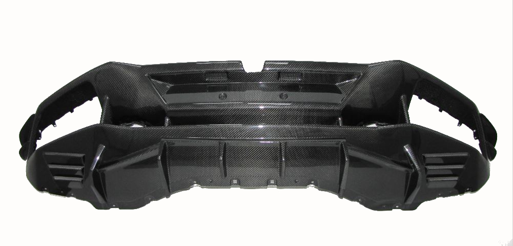 Für Lamborghini Huracán Huracan LP610-4 Carbon Heckdiffusor Diffusor GT3 Style