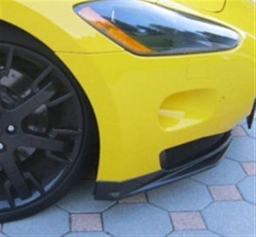 Passend für Maserati GT GTS GranTurismo ab2007 Carbon Flaps Front Splitter GT Master Sty