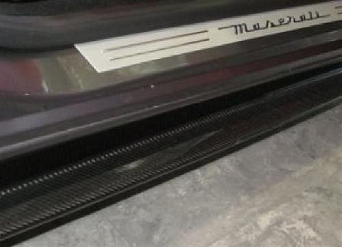 Für Maserati GT S GTS GranTurismo ab2007 Carbon12K Seitenschweller Diffusor