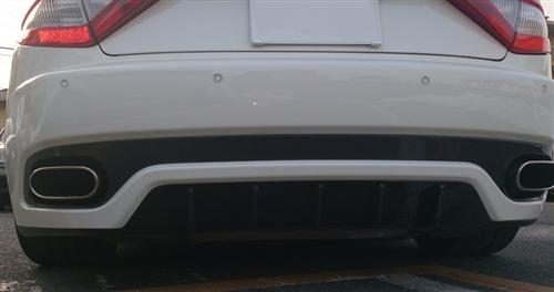 Passend für Maserati GT GTS GranTurismo Carbon Heckdiffusor mitte GT Master 12K