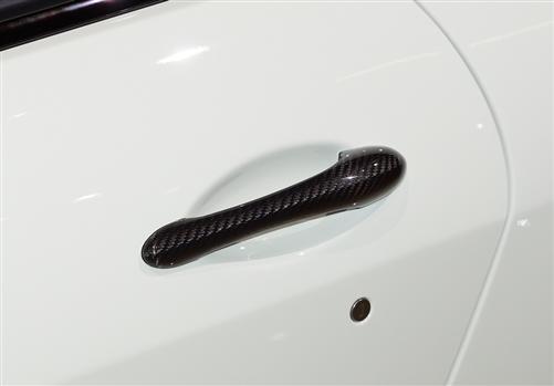 Für Maserati GT S GTS GranTurismo ab2007 Carbon TÜR Griffe door pull
