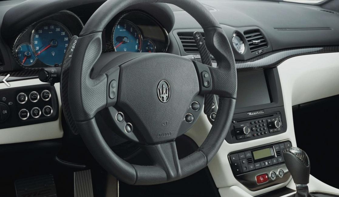 Für Maserati GT Granturismo Stradale Gran Cabrio Carbon Interieurleisten Leisten