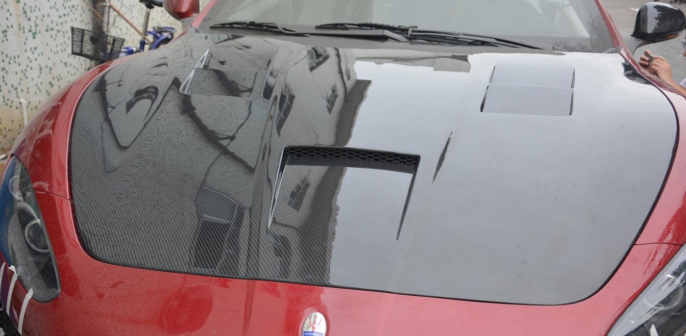 Passend für Maserati GT GTS Stradale GranTurismo Carbon Motorhaube MC Trofeo Corse Cabri