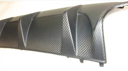 Passend für Mercedes W204 C63 AMG Facelift  Echt Carbon Matt Heckdiffusor Heck Diffusor